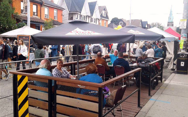 Downtown Timmins says Pop-Up Patios will Help Save Restaurants article