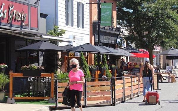 Pop Up Patio pilot program launches in downtown Alliston article