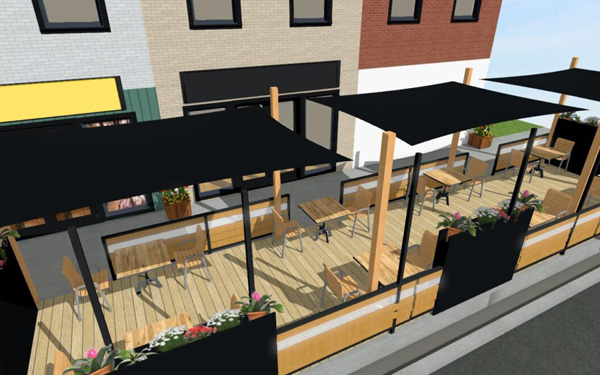 Downtown Kitchener BIA launches Patio Project for Business Recovery article