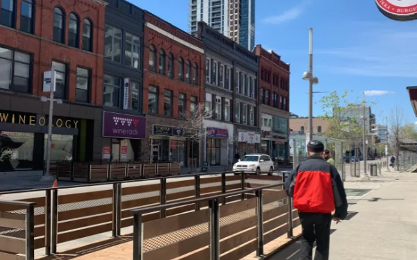 Pop-up patios in downtown Kitchener to help restaurants recover from another lockdown article